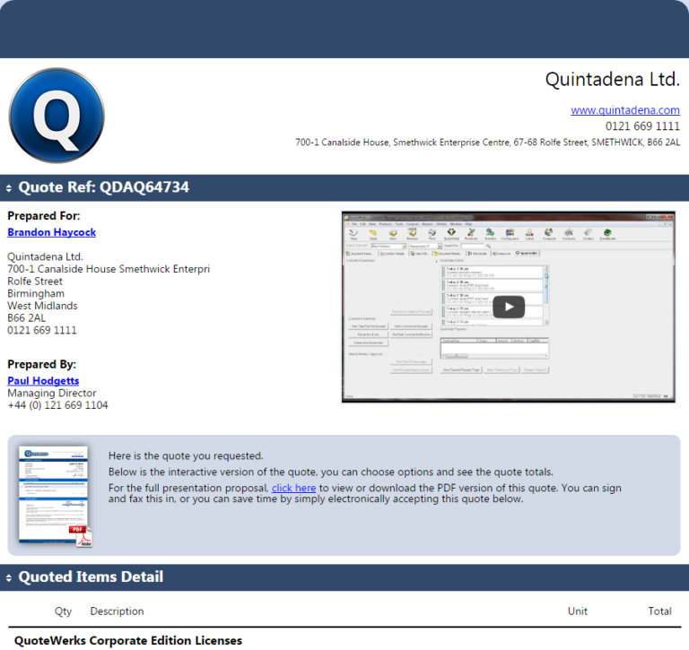 CPQ software providers document editing